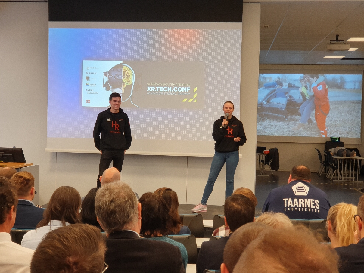 XR Tech. Conference at NORD university